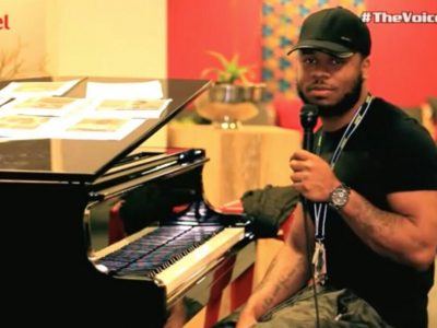 Wilson\'s interview at The Voice Nigeria