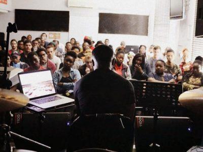 Wilson teaching at COPA Master Class