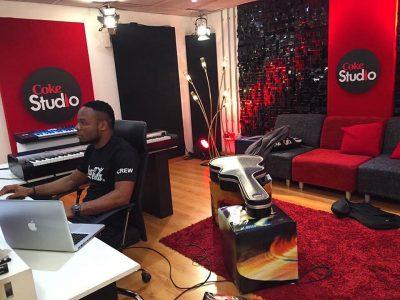 Wilson directing at Coke Studio