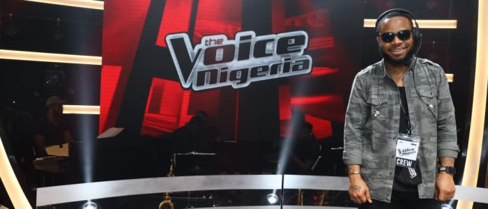 The Voice Nigeria - Blind shoot day - Music Directing